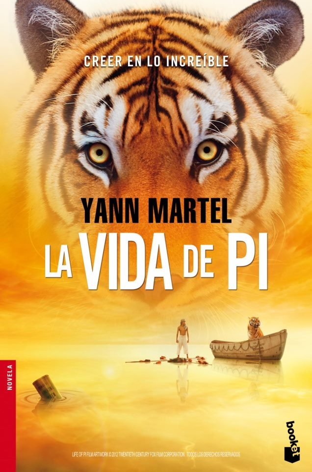 EL LIBRO DEL DÍA    La vida de Pi, de Yann Martel  http://www.quelibroleo.com/vida-de-pi 20-12-2012