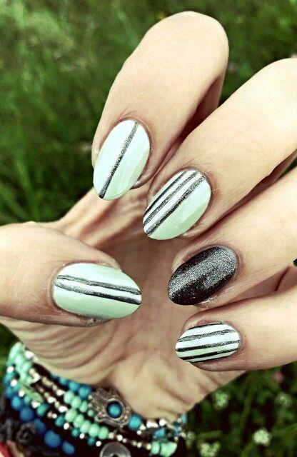 Mint & grey / Mięta i szarość