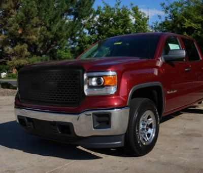 Gmc sierra 1500 2014 2015 black grille truck accessories - 2015 gmc sierra interior accessories ...
