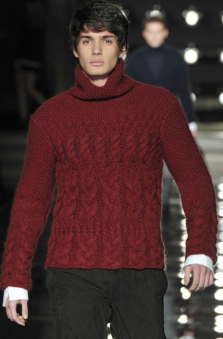 Ermano Scervino FW 13/14 - Milan Men's Fashion Week