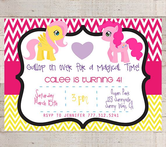 My Little Pony Sunshine Birthday Party by myhappylifedesigns, $12.00