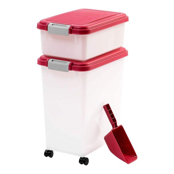 Iris 3piece airtight pet food container combo visit the