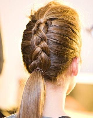 10 peinados con trenzas