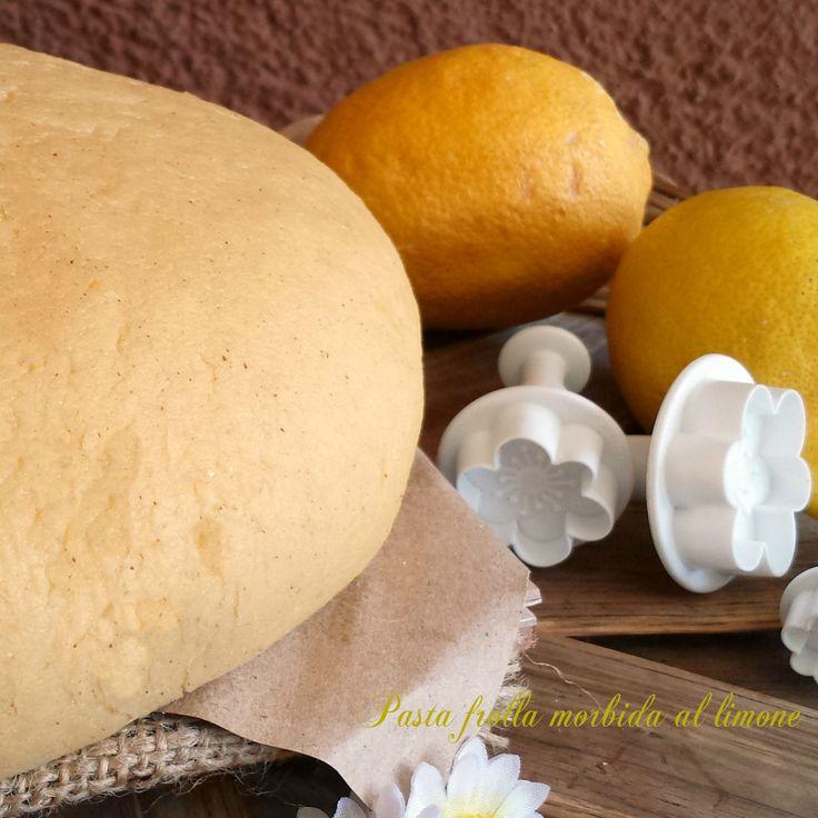 Pasta frolla morbida al limone | Il mondo di Adry