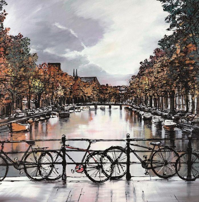 Original Amsterdam Moods by Paul Kenton Sold