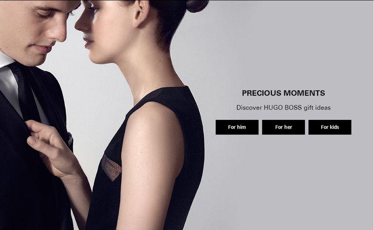 Web Banner from Hugo Boss #Web #Banner #Digital #Online #Marketing #Fashion