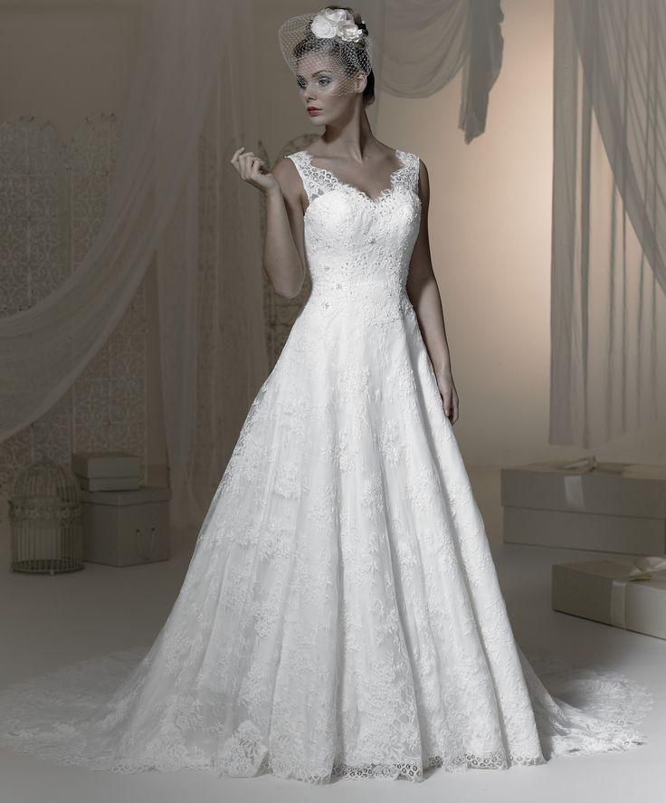 Gorgeous lace gown, part of our brand new collection.
