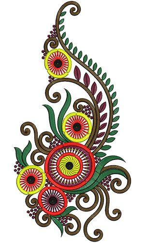 Kali Embroidery Design 12819