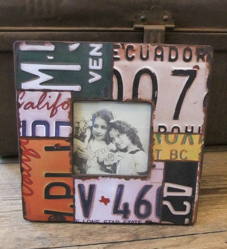 USA Licence Plate Photo Frame - Industrial Look / Diner / Contemporary | eBay