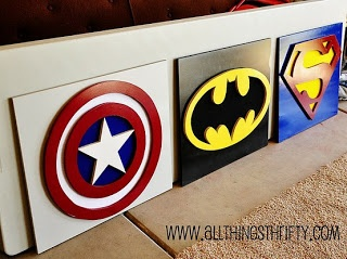 Superhero Bedroom Ideas for Denim