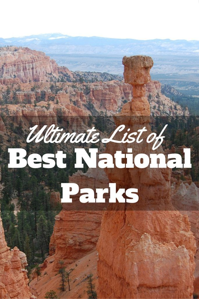 Ultimate List of Best National Parks in Each State