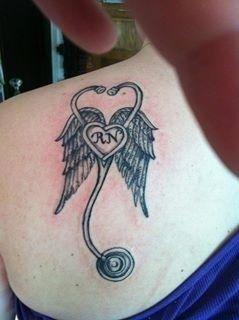 I will get this tattoo when I finish nursing school!