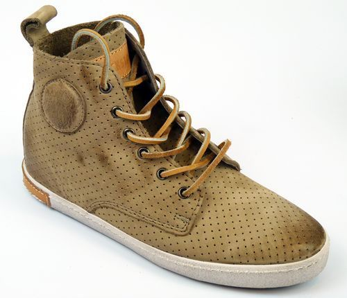 SALE-NEW-BLACKSTONE-WOMENS-NUBUCK-LEATHER-HI-TOP-TRAINERS-BOOTS-TAUPE-FL62-f7a