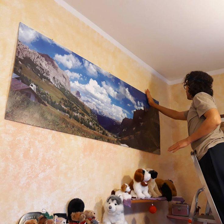 "Rici86 | Sara R. (@ricinisaorsa) su Instagram: ""My husband's panorama on the wall makes great impression! 😄 #photo #photography #photographer…"""