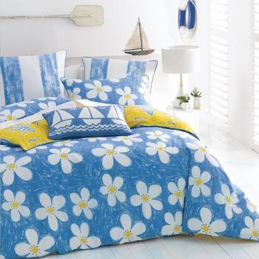 Linen House Cathie Maney Daisies Quilt Cover Set Daisies   Spotlight Site AU