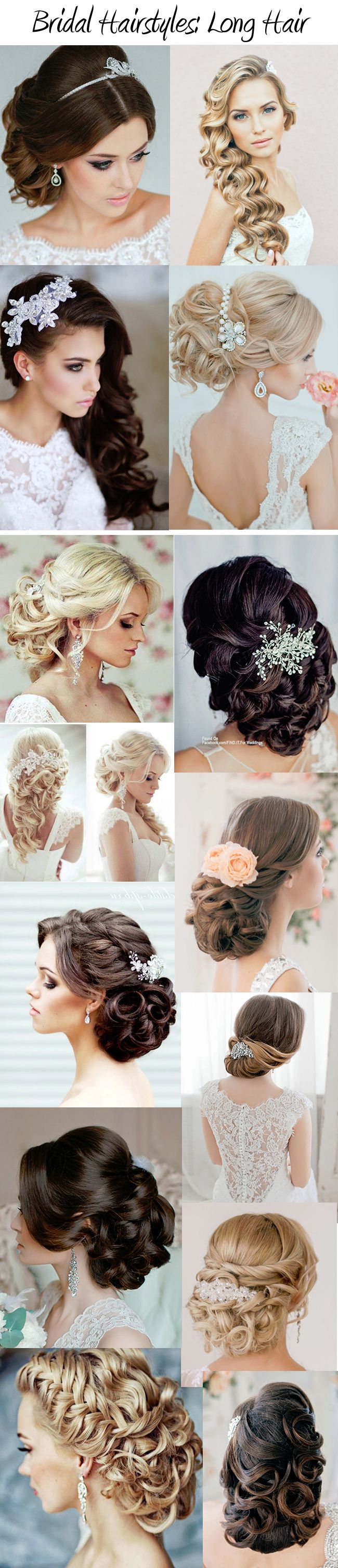 Gorgeous Bridal Hairstyles: Our Brides' Favorites www.customdreamgowns.com…