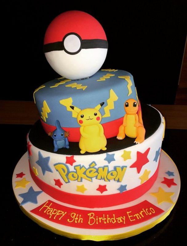 Ms de 25 ideas increbles sobre tarta de Pikachu en Pinterest