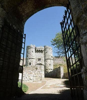 Carisbrook Castle, Isle of Wight. UK