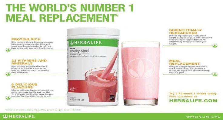 Herbalife Formula 1 Meal Replacement Shake Review