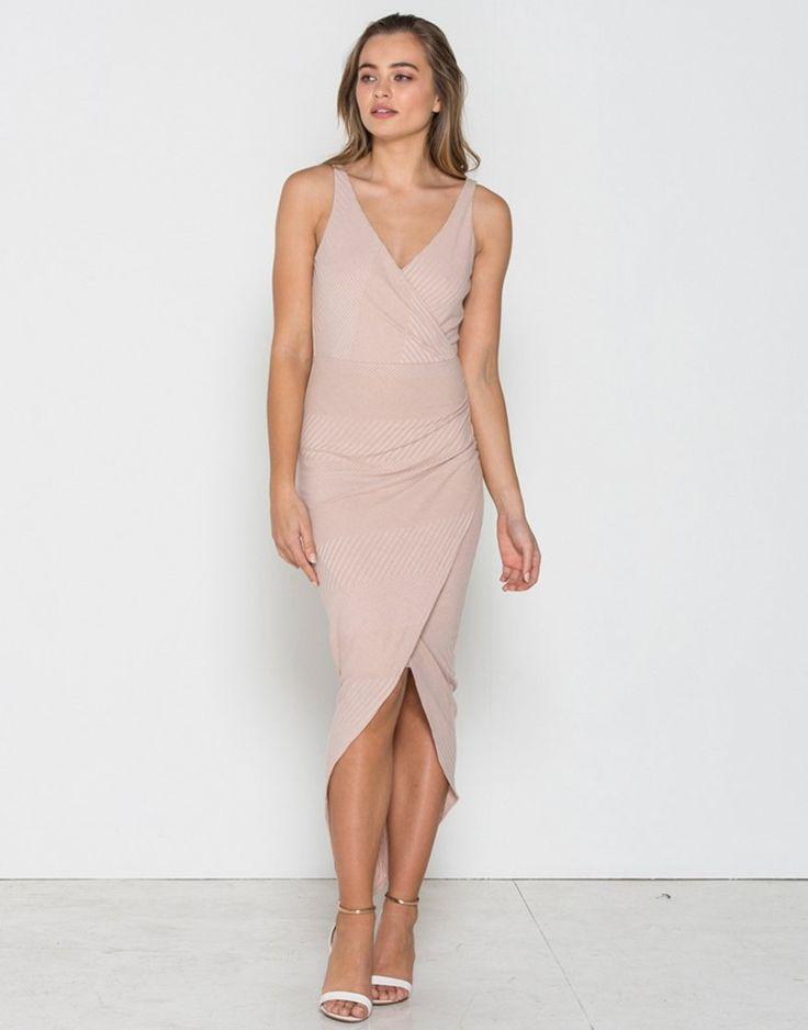 Fresh Soul - Perspective Wrap Dress
