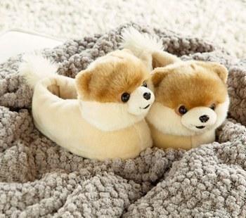 Love! Cute, Boo slippers.