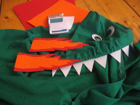 Super Easy Dragon Costume