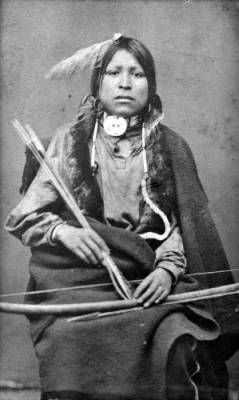 Spotted Fawn, Sioux 1875-1885