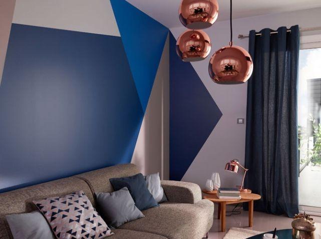 42 best mur graphique en peinture images on Pinterest | Child room, Painted walls and Bedrooms