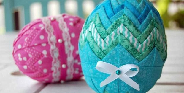 Add Lace, Ribbon and Other Decorative Trim to These No-Sew Ornaments! Learn how to make these wonderful Easter eggs from a pro who has made thousands. The pattern is very explicit with many variations for creating your own unique decorative eggs. No sewing is involved. Simply fold fabric and add whatever embellishments you desire. Start …