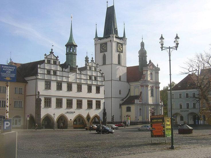 Litomerice main square