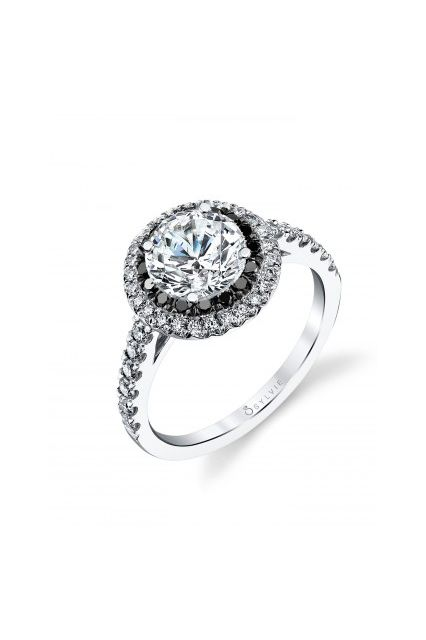 There's A New LBD — The Little Black Diamond Ring #refinery29  http://www.refinery29.com/martha-stewart-weddings/25#slide8