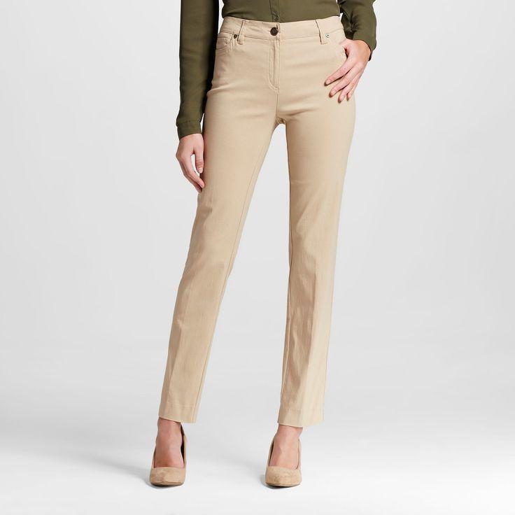 Women's Trousers Oh So Khaki (Green) 16 - Zac & Rachel
