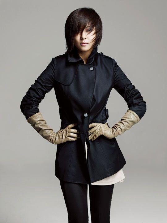 ha ji won ♡ cute coat! | Celebrities | Pinterest | Coats ...