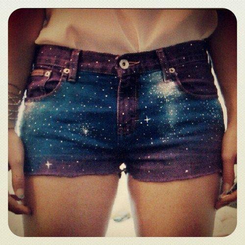 Galaxy Shorts.