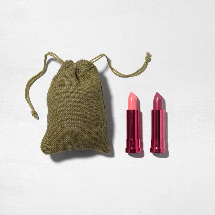 2 Pc. Calypso & Dandelion Pomegranate Lipstick Gift Set (Web Exclusive)