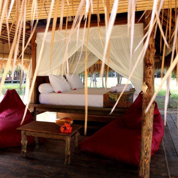Bale - Gili Asahan Eco Lodge, Lombok