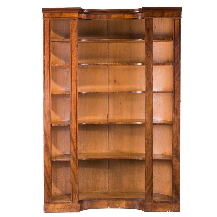 Regency Period Open Bookcase | 1stdibs.com