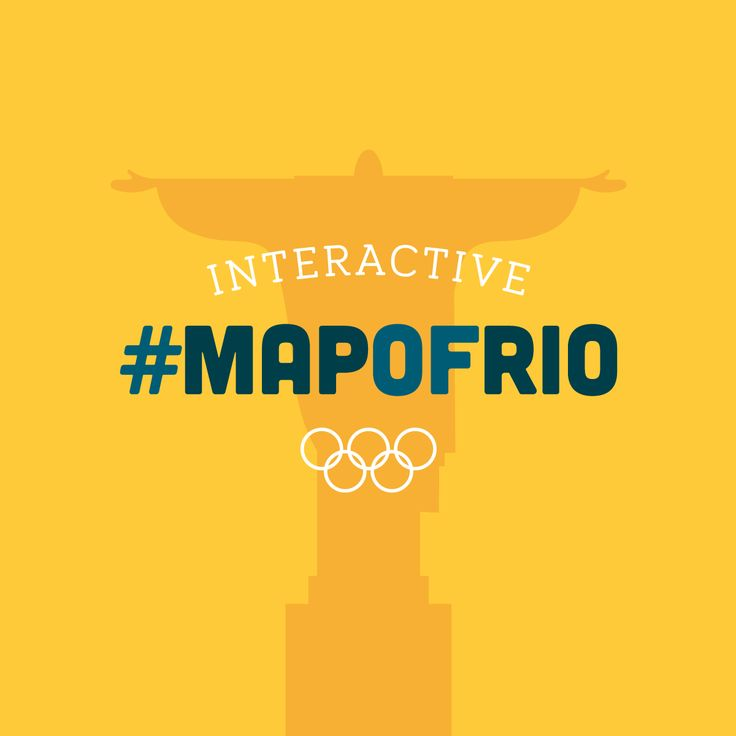 Take a tour around an interactive #MapofRio to discover the facts, hunt a fugitive, excavate some body parts and show your support for support Team GB