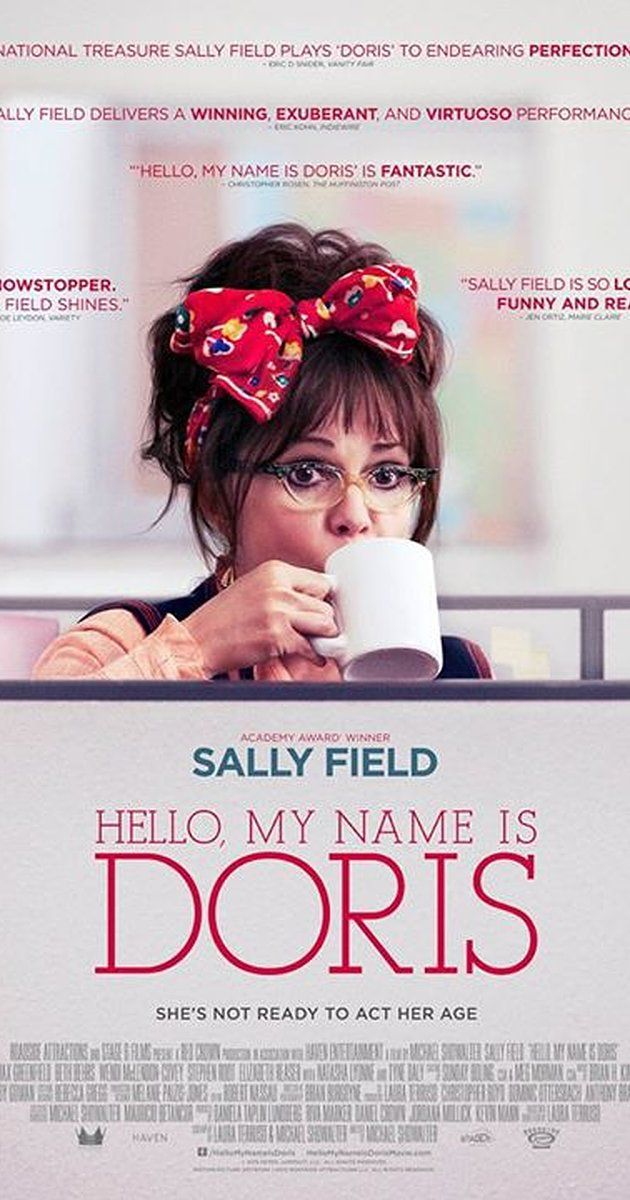 Directed by Michael Showalter.  With Sally Field, Max Greenfield, Beth Behrs, Wendi McLendon-Covey. A self-help seminar inspires a sixty-something woman to romantically pursue her younger co-worker.