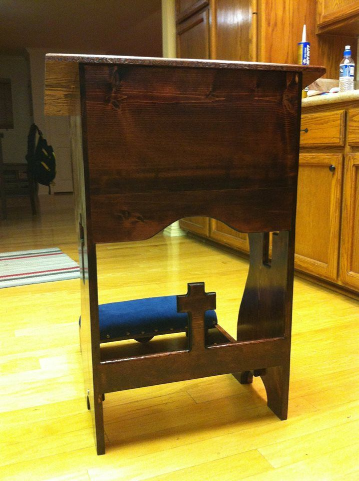 Prayer Kneeler Knot Just Woodworking Other Woodworking Pinterest Woodworking