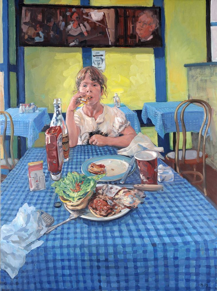 Hector McDonnell, Rose in a Cold Spring Café, 2011