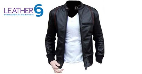 There is only one word for this Lambskin leather plus jacket, beautiful, it's just beautiful! http://bit.ly/1zXaNtA #Leather #Jacket #Fashion #2015 #Men #Women