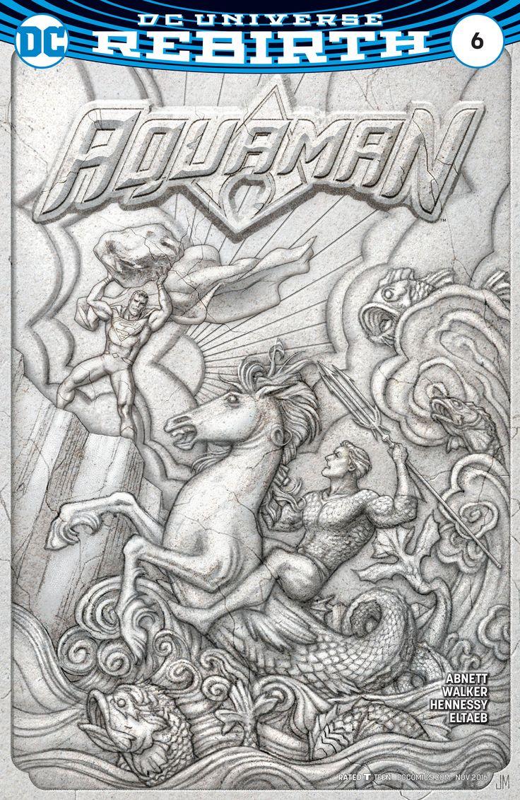 Aquaman vs Superman - DC comics rebirth