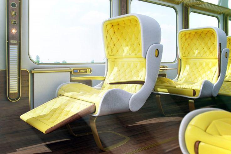 Christopher Jenner reimagines the Eurostar interior