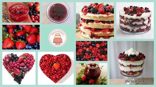 Versátil, linda e deliciosa, a geléia de frutas vermelhas é fácil de fazer. A geléia pode ser usada como complemento para rechear bolos, especialmente naked cakes e rocamboles. Fica ótima também misturada com merengue suíço com buttercream ou merengue italiano.