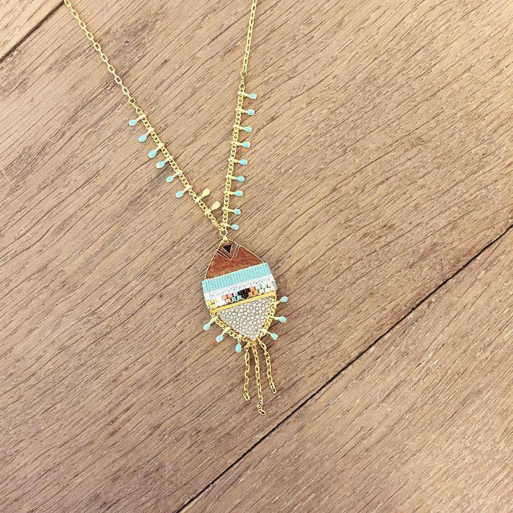 Réveillez l'esprit bohème qui sommeille en vous avec ce collier issu de la collection Kuzco ! #satelliteparis #bijoux #gioielli #jewelry #love #photooftheday #beautiful #fashion #collier #necklace #cadeaufemme #bijouxfantaisie #style #bijou