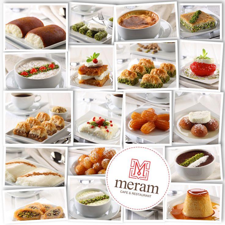 Dessert bij Meram
