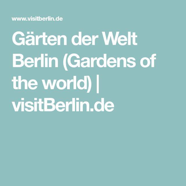 Gärten der Welt Berlin (Gardens of the world) | visitBerlin.de