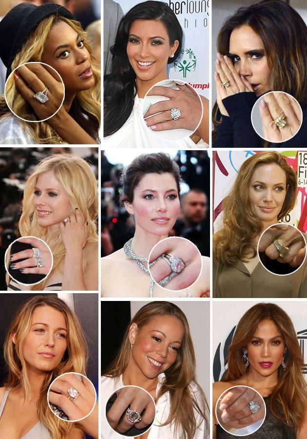 Biggest Celebrity Rings