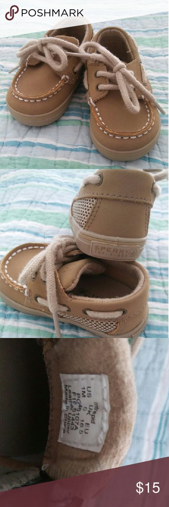 Baby Sperry shoes Adorable baby lace up Sperry shoes Sperry Shoes Baby & Walker